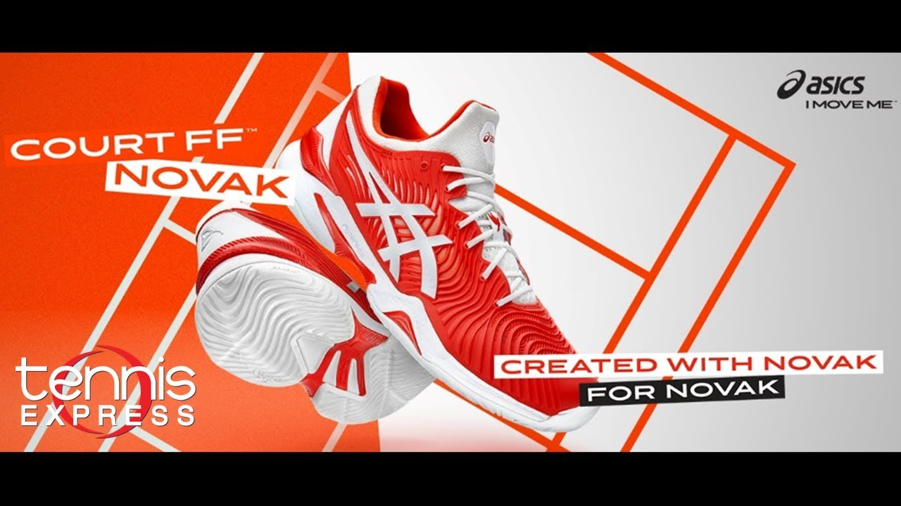 9589b0e6 ASICS French Open Court FF 2 Novaks | Tennis Express