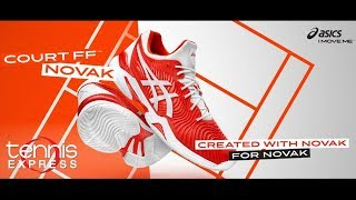 ASICS French Open Court FF 2 Novaks | Tennis Express