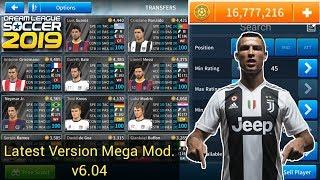 Dream League Soccer 2019 Mega MOD Apk v6.04 [All Players Unlocked + Unlimited Players Development]