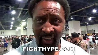 THOMAS HEARNS ON HOW HE WOULD'VE FOUGHT MAYWEATHER AND PACQUIAO; REACTS TO REMATCH TALK