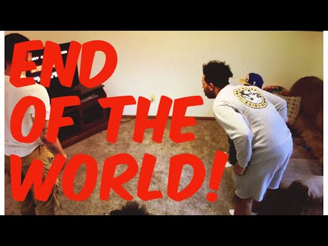 END OF THE WORLD PRANK ON UNCLE (ANXIETY ATTACK)