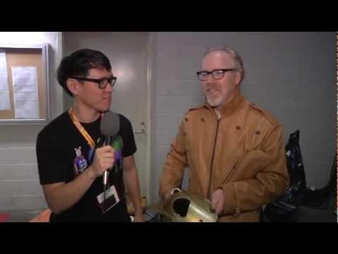 Видео, Adam Savage Surprises Fans at Comic-Con 2012