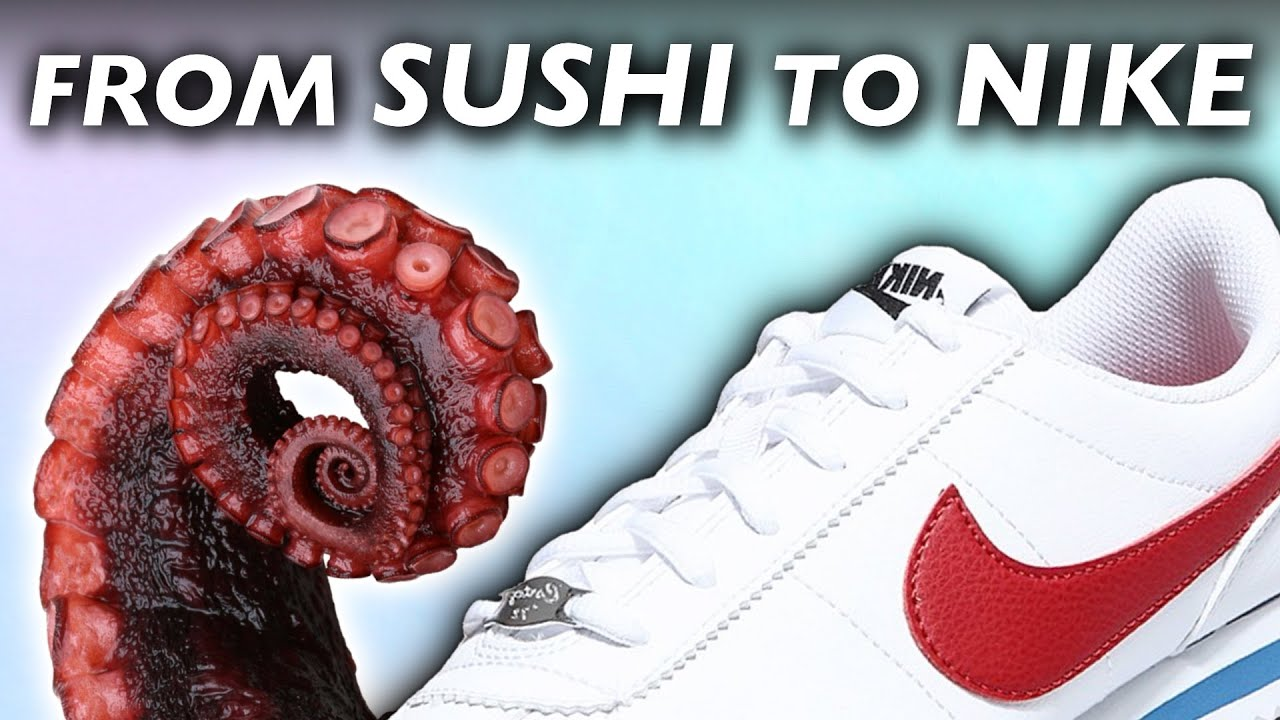 How Nike Shoes Started from an Octopus Leg and $50