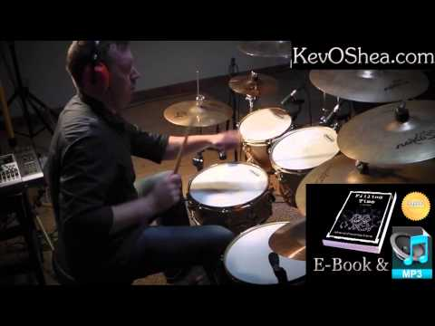 ★ Advanced Drum Lesson ★ Reversed John Bonham Triplets
