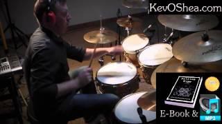 ★ Advanced Drum Lesson ★ Reversed John Bonham Triplets