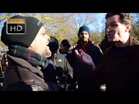 P1 - Pure Denial! Hashim vs Visitor l Speakers Corner l Hyde Park