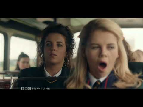 BBC Newsline: What the people of Derry think of Derry Girls - 5th January 2018