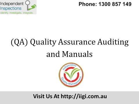 Quality Assurance Certification Australia