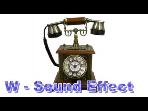 Phone Classic Bell Ring, Phone Ring Digital Beep, Sound Effects