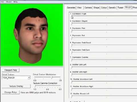 Tutorial FaceGen Modeller 3 5 Free