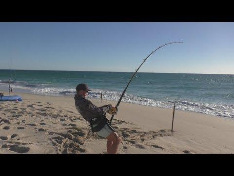 Shark Fishing Adventure To Western Australia Part 2: BIG Tiger Shark Action!