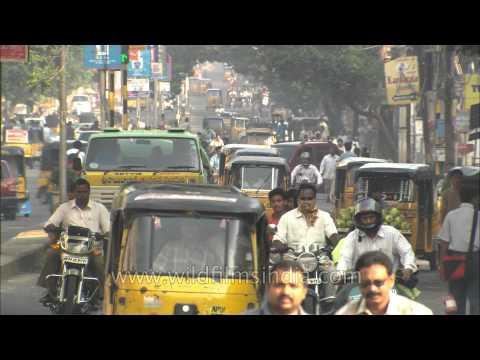 Busy life of Vishakhapatnam