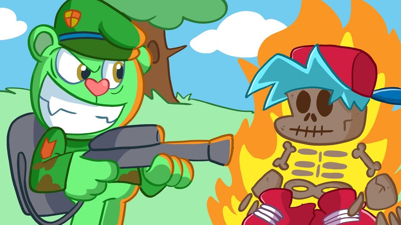Flippy isn't Happy -  Funny Animation