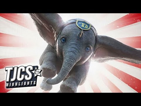 Disney Offers New Glimpse Of Tim Burton's Dumbo