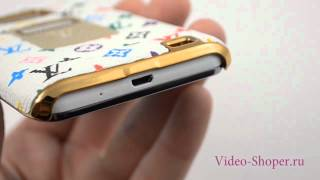 Видео обзор Задняя панель Louis Vuitton для Samsung Galaxy S II