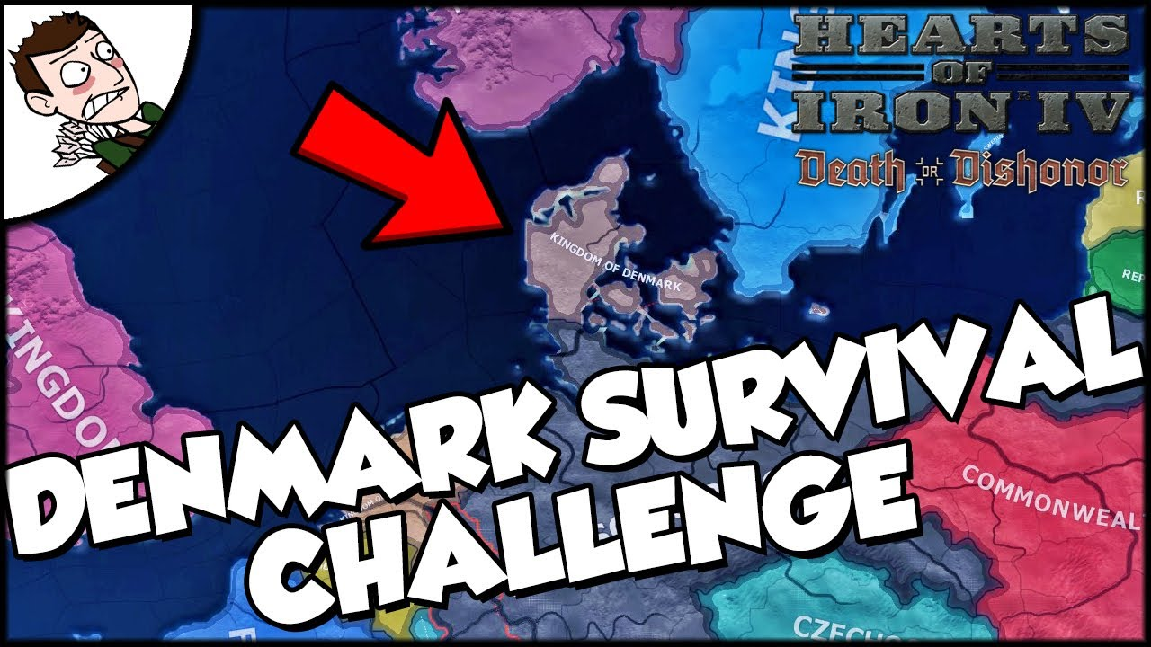 Hearts of Iron 4 HOI4 Denmark Survival Challenge (Road to 56 Mod)