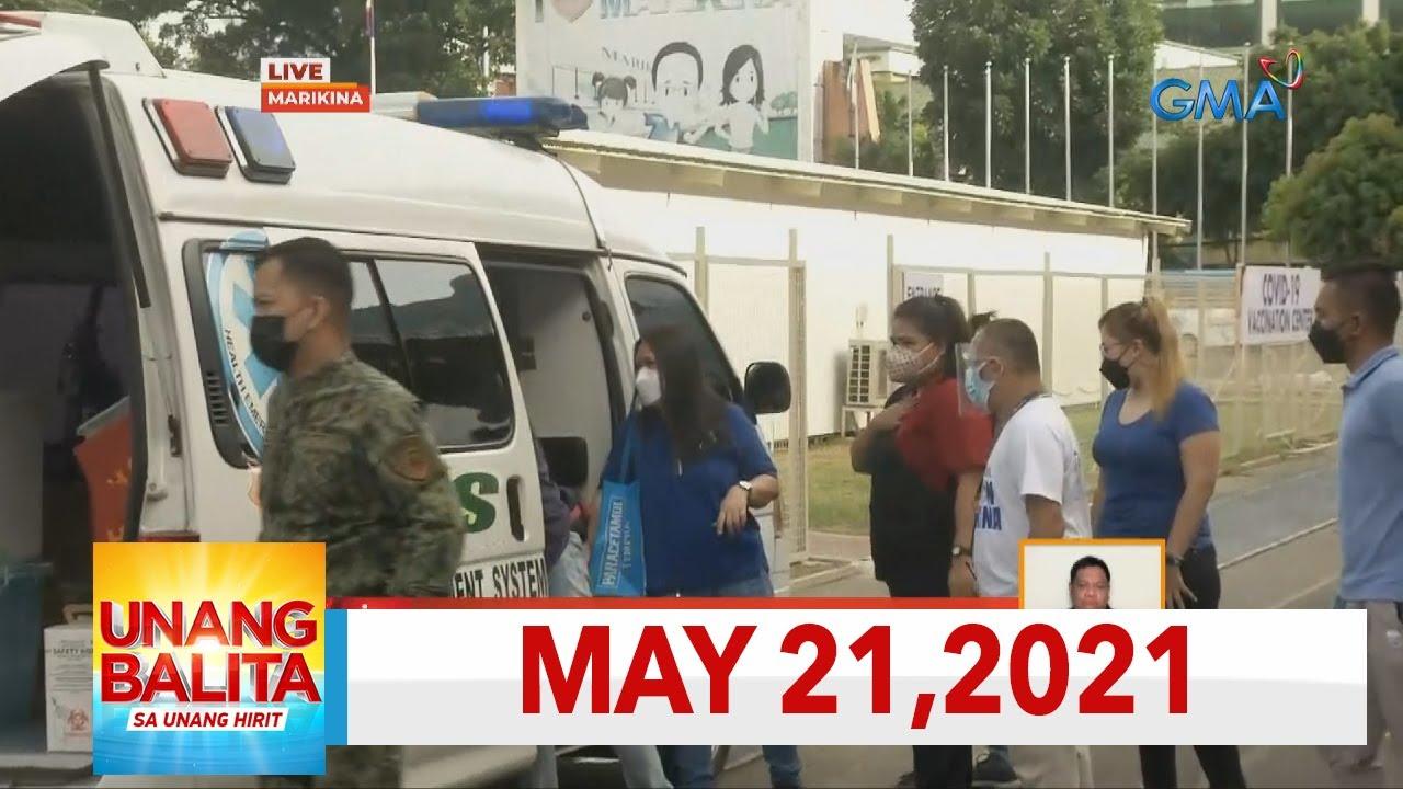 Download Unang Balita sa Unang Hirit: May 21, 2021 [HD]
