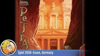 Passing Through Petra — game overview at SPIEL '18