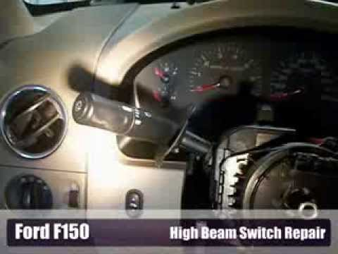 1994 Ford F250 Fuse Box Diagram Ford F150 High Beam Problem Fixed Youtube