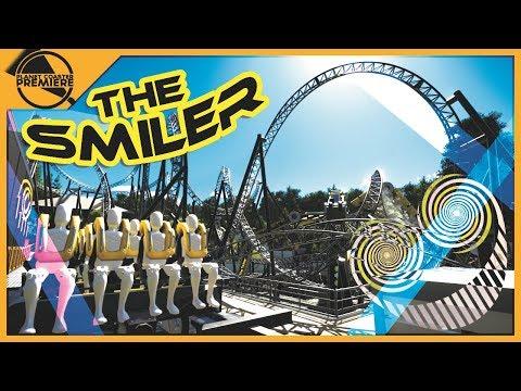 Alton Towers - The Smiler | Planet Coaster Premiere | 4Kᵁᴴᴰ