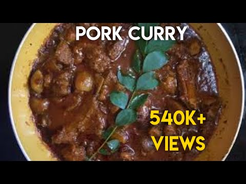 Kerala style pork curry| Easter special| Easy recipe