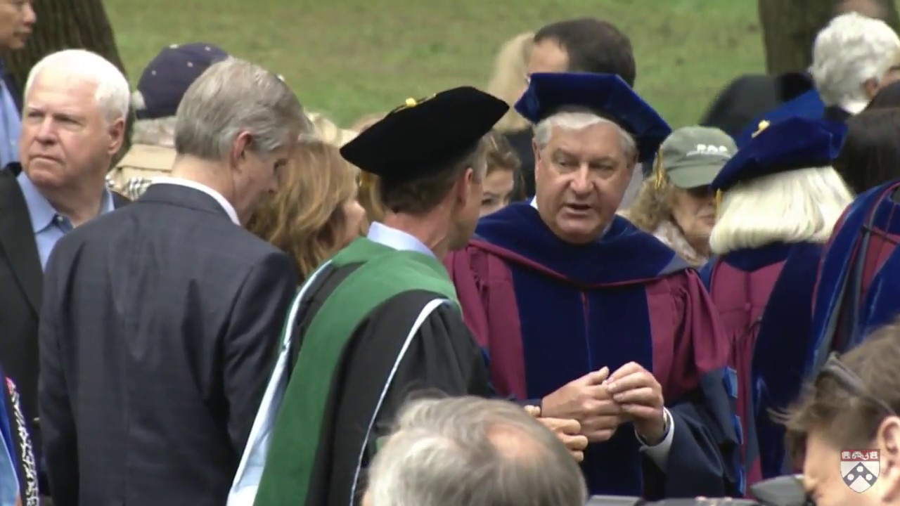 83e612df2ab University of Pennsylvania 262nd Commencement Ceremony - YouTube