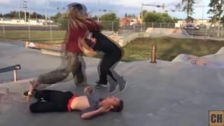 Skater fight compilation 2017