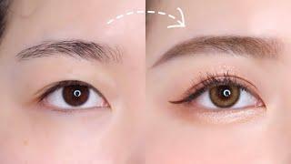 속쌍눈 쌍테 붙이는 방법 (쌍테 집중 공략 ver.) …