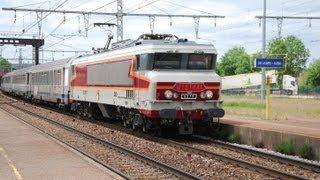 """Train spécial ARF """"LE MISTRAL"""" CC6570 2 juin 2013"""