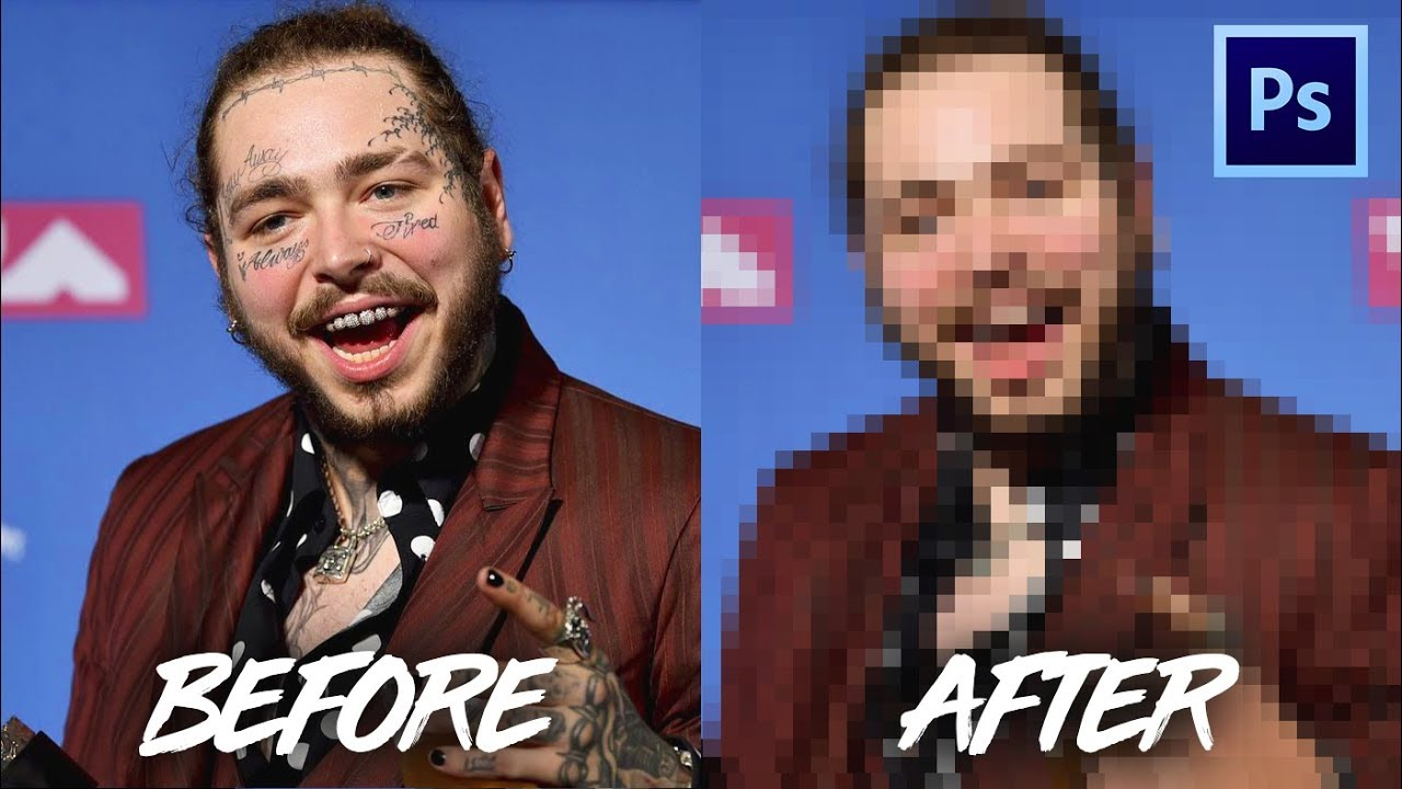 REMOVING ALL OF POST MALONE'S TATTOOS