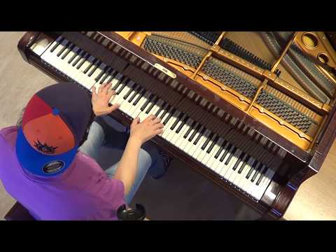 Alan Walker - FADED + Force + SPECTRE - piano cover acoustic unplugged by LIVE DJ FLO