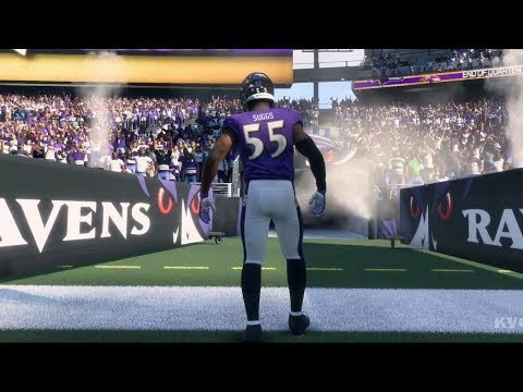 Madden NFL 18 - Baltimore Ravens vs Dallas Cowboys - Gameplay (HD) [1080p60FPS]