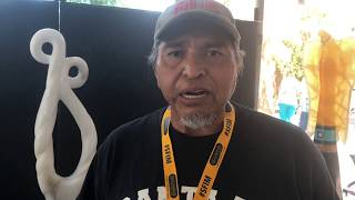 Santa Fe Indian Market 2018 - Artist Interviews | Cliff Fragua - Jemez Pueblo - Sculpture