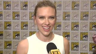 Comic-con 2019 Scarlett Johansson Opens Up About And39black Widowand39 Solo Film