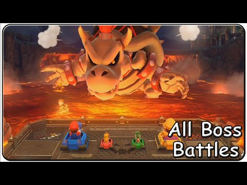 Mario Party 10 All Boss Battle Minigames