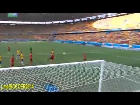 Amazing save by Guillermo Ochoa Brazil vs Mexico Fifa World Cup 2014