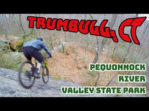 Mountain Biking Pequonnock River Valley State Park | Trumbull, Connecticut