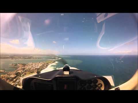 Tecnam P92 Eaglet Cockpit Video Private Pilot Training [HD Video]
