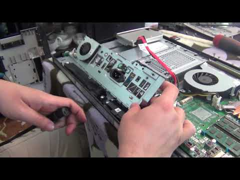 Replacing power supply on Dell All in One (AIO) Inspiron 2330