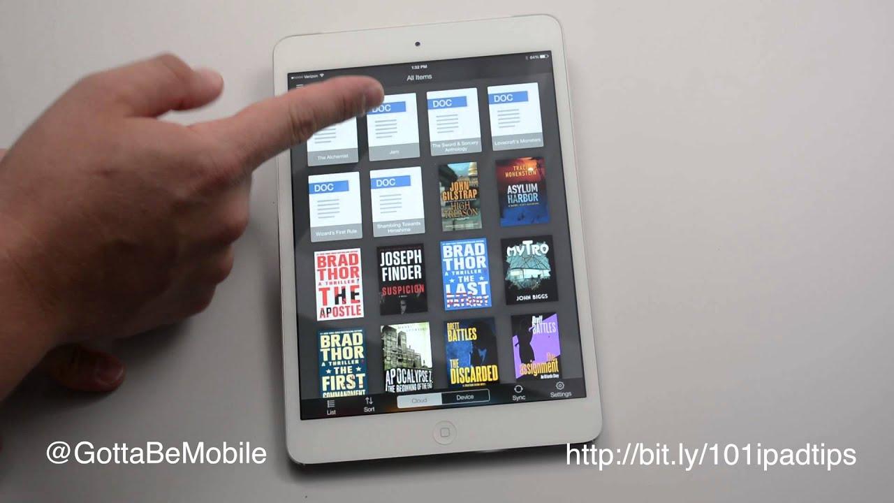 i onto mini my books can ipad