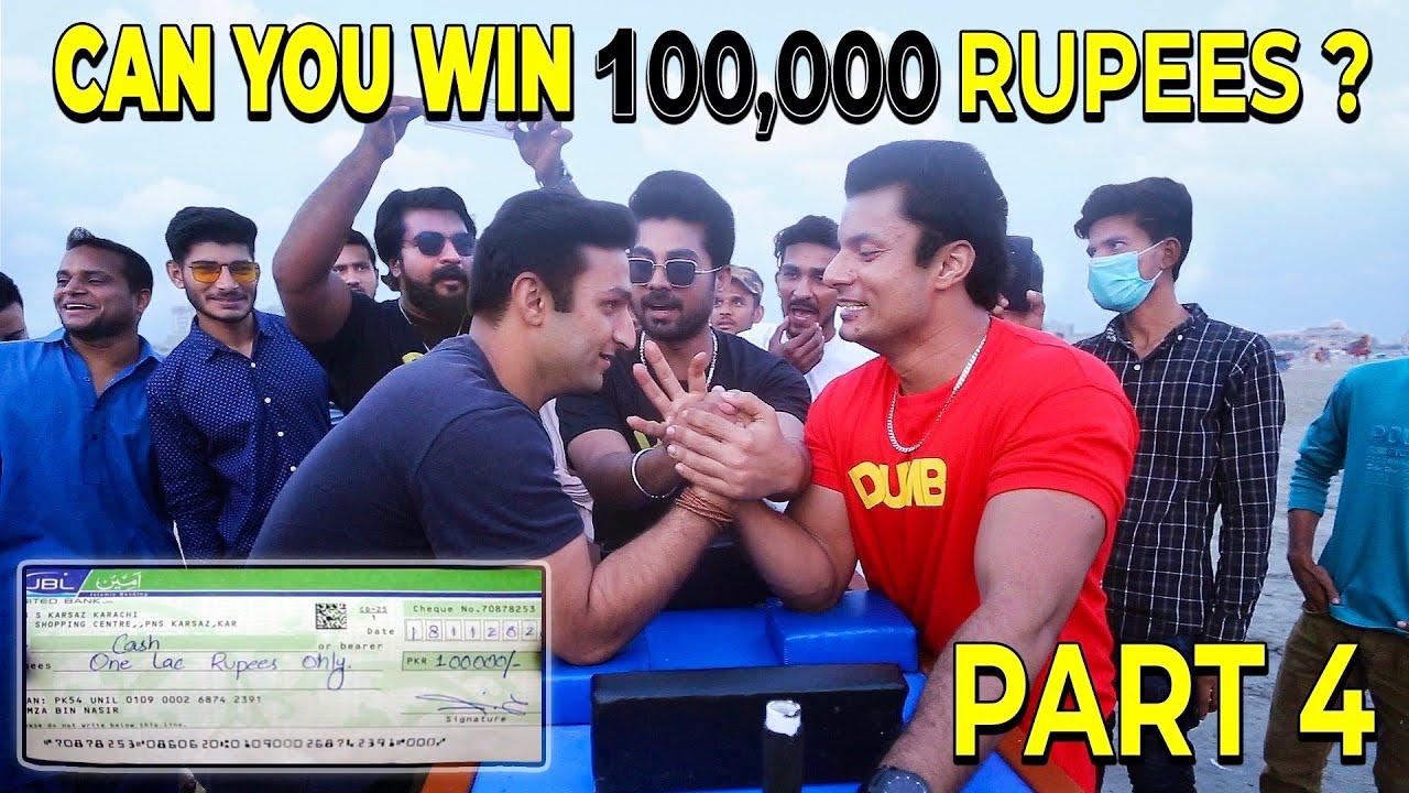 Arm Wrestling Challenge For 100,000 ( 1 Lac ) Challenge | Dumb Pranks | Dumb TV 2020