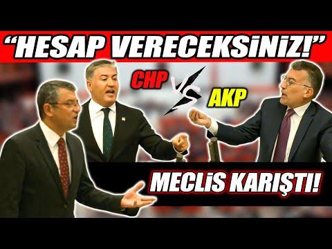 """AKP'li isim CHP belediyelerini yolsuzlukla suçladı! Meclis'te tartışma çıktı! """"HESAP VERECEKSİNİZ!"""""""