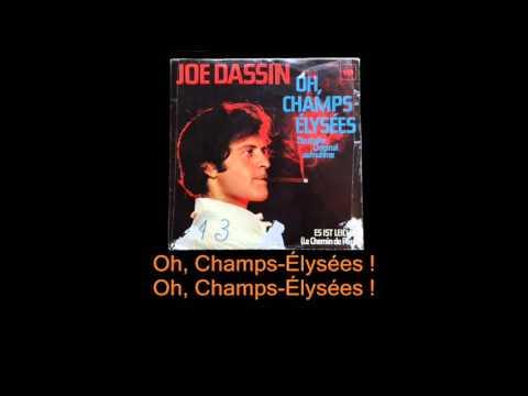 Joe Dassin - Oh, Champs-Élysées ! (Version allemande avec paroles)