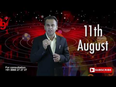 Astrological Prediction For 11th August Born | Astrology Planets