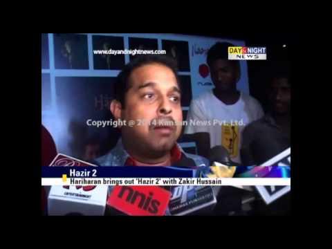 Hariharan brings out 'Hazir 2' with Zakir Hussain
