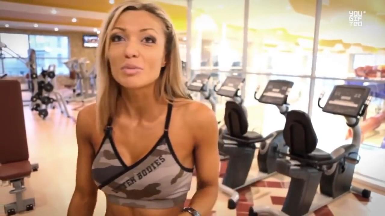 Тяжёлая базовая тренировка ног Катя Усманова - YouTube