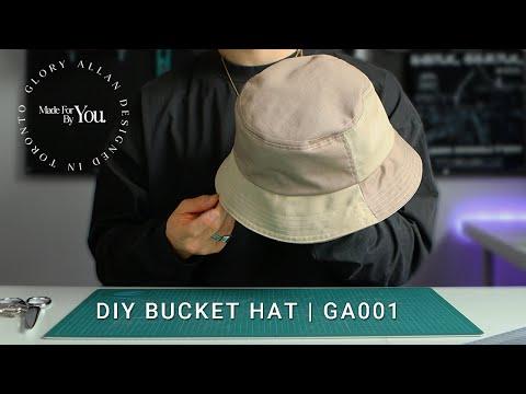 HOW TO SEW Bucket Hat Tutorial | GA001