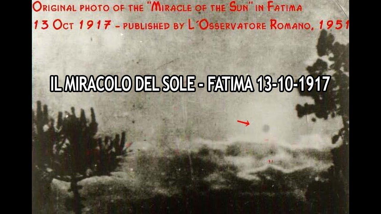 Risultati immagini per il miracolo del sole a fatima
