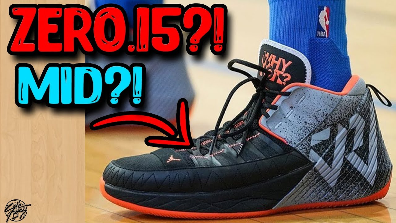 bd03f8ef5630d9 Westbrook Wears a New Why Not Zero.1.5 Pe ! No Shroud + Different Materials!