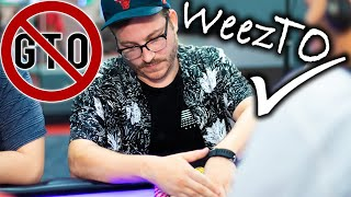 Weez RUNS IT UP ♠ Live at the Bike!